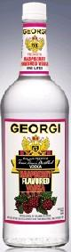 Georgi Vodka Raspberry 1.00l - Case of 12